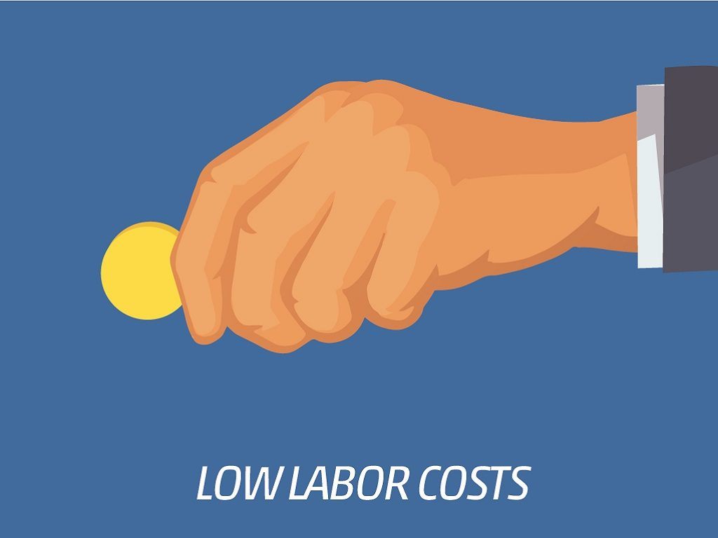 Low Labor Costs