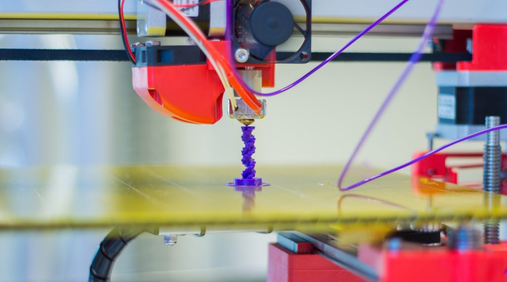 3D Printing is more portable, while injection molding is industrial-sized