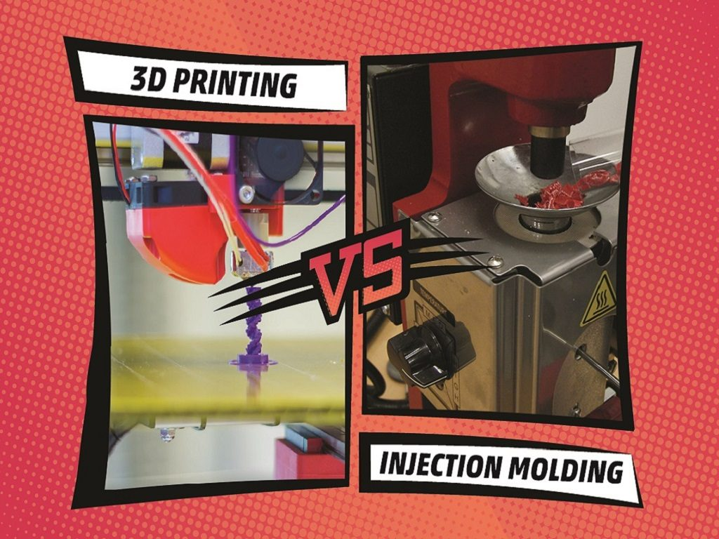 3D Printing vs Injection Molding