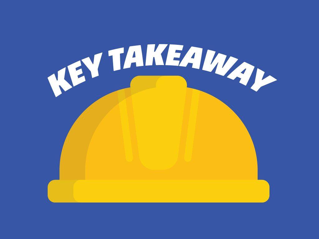 Key Takeaway