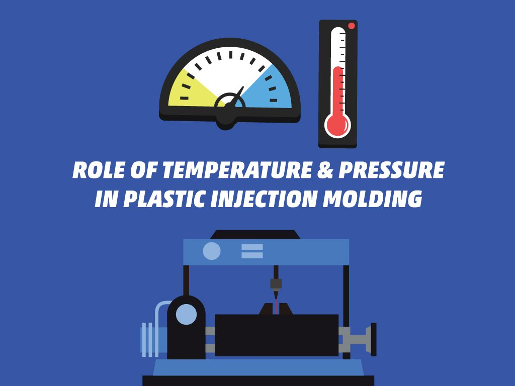 Role of Temperature & Pressure in Plastic Injection Molding