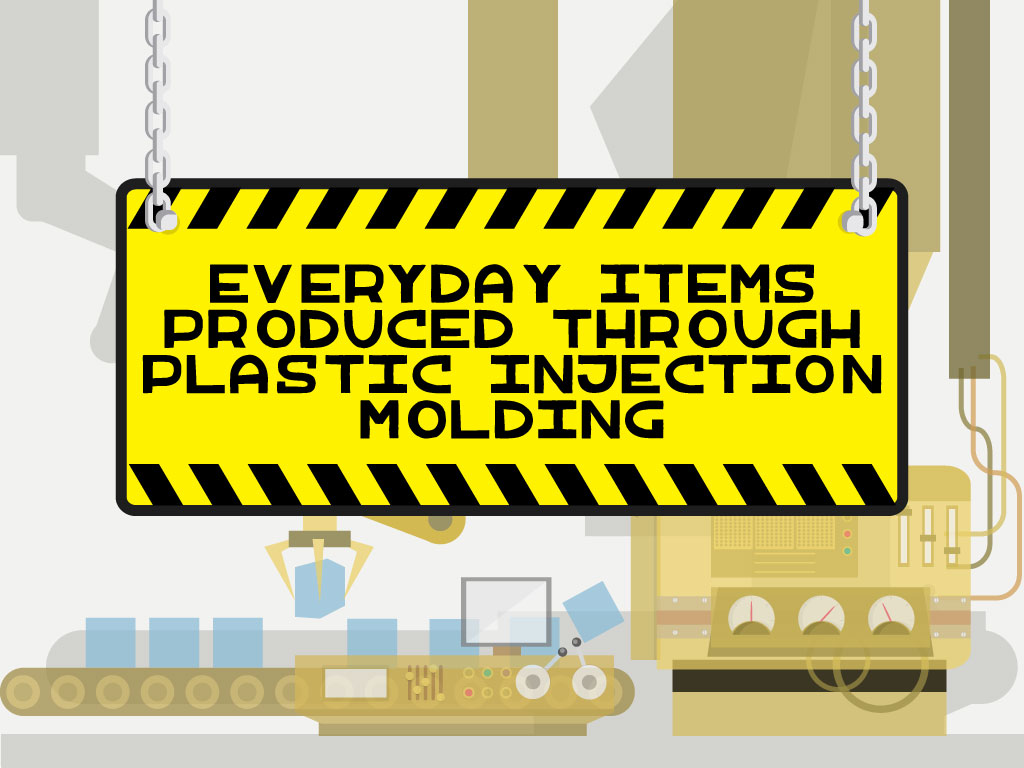 Everyday Items Produced Through Plastic Injection Molding