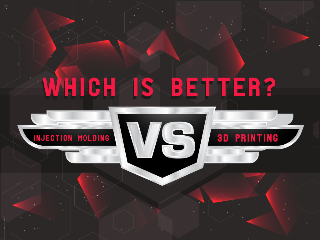 Injection Molding vs 3D Printing: Which is Better?