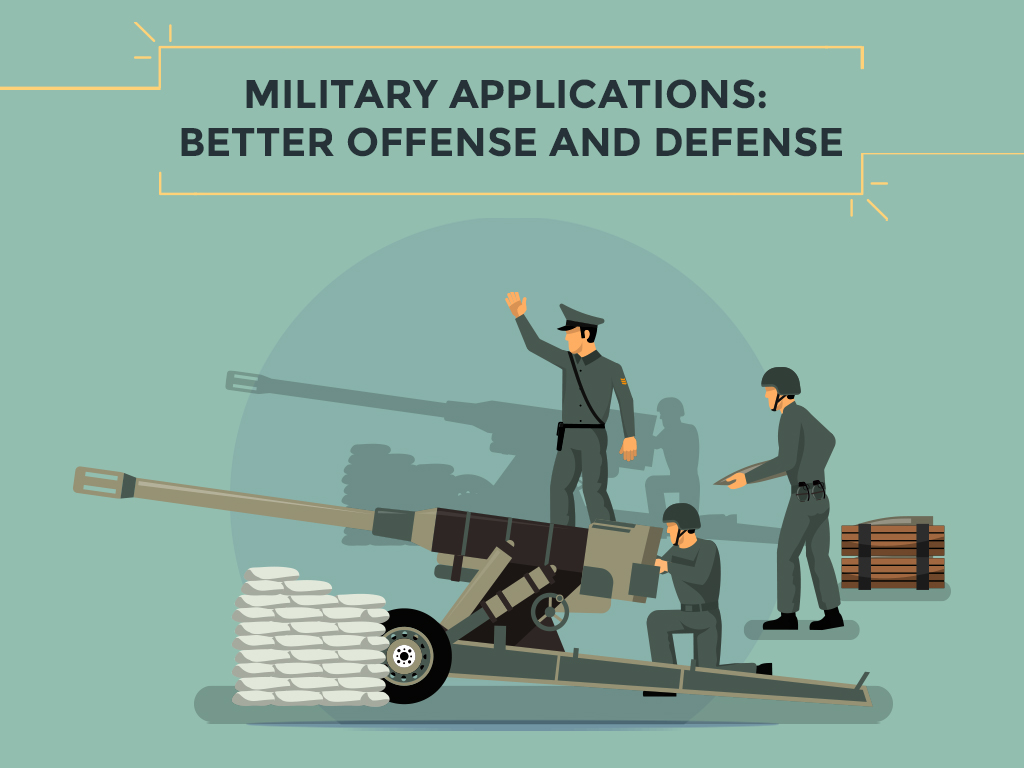 Military Applications Better Offense And Defense