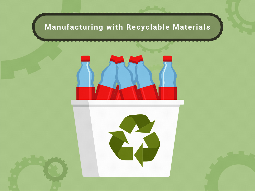 Manufacturing With Recyclable Materials