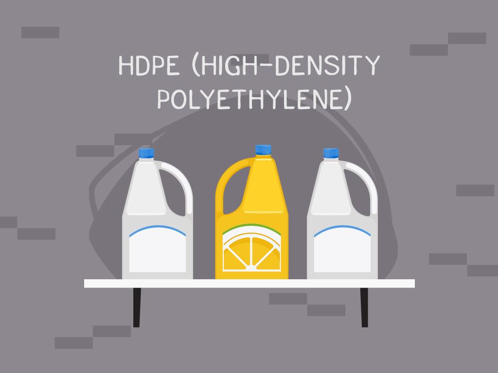 #2 HDPE (High-density polyethylene)