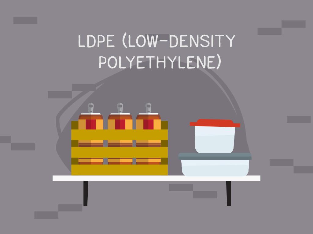 #4 LDPE (Low-density polyethylene)