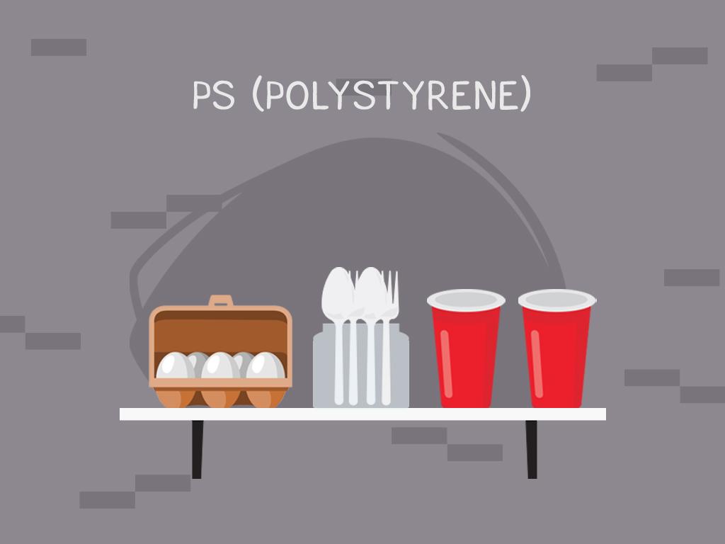 #6 PS (Polystyrene)
