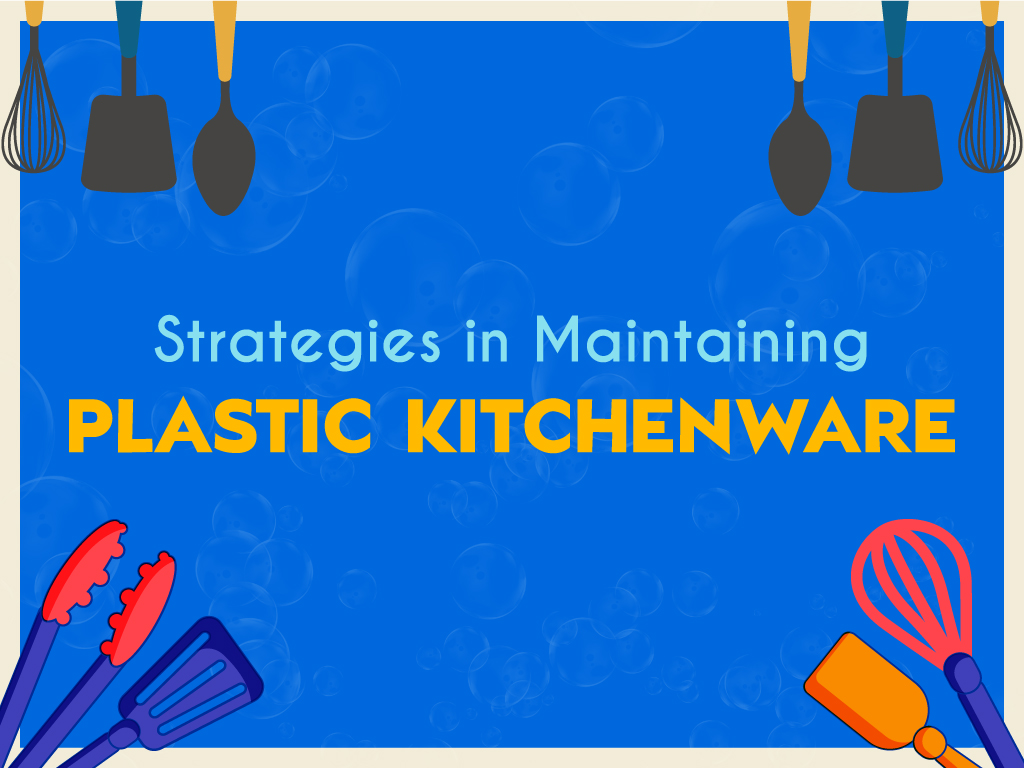 Graphics of plastic kitchenware