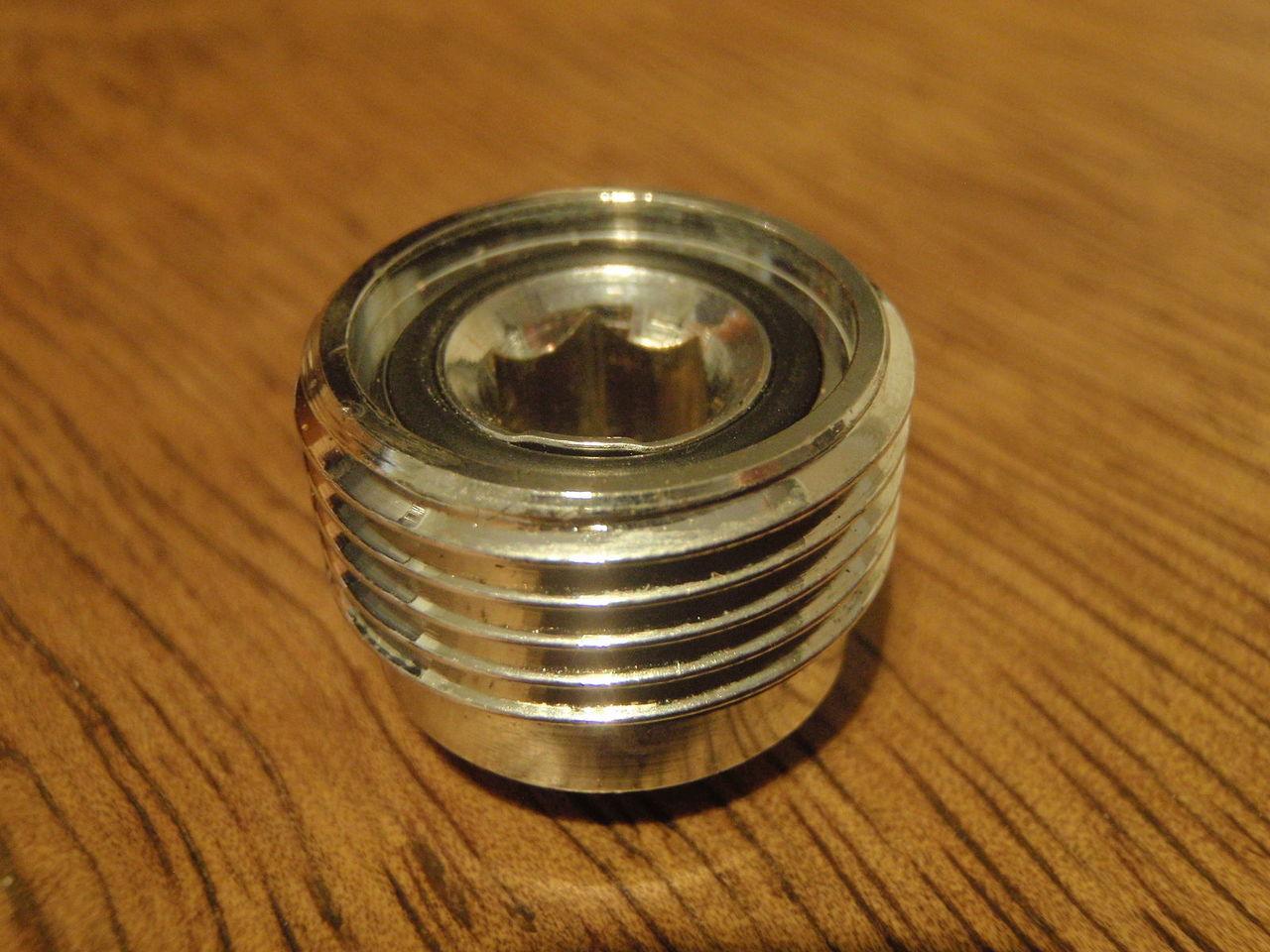 A metal insert