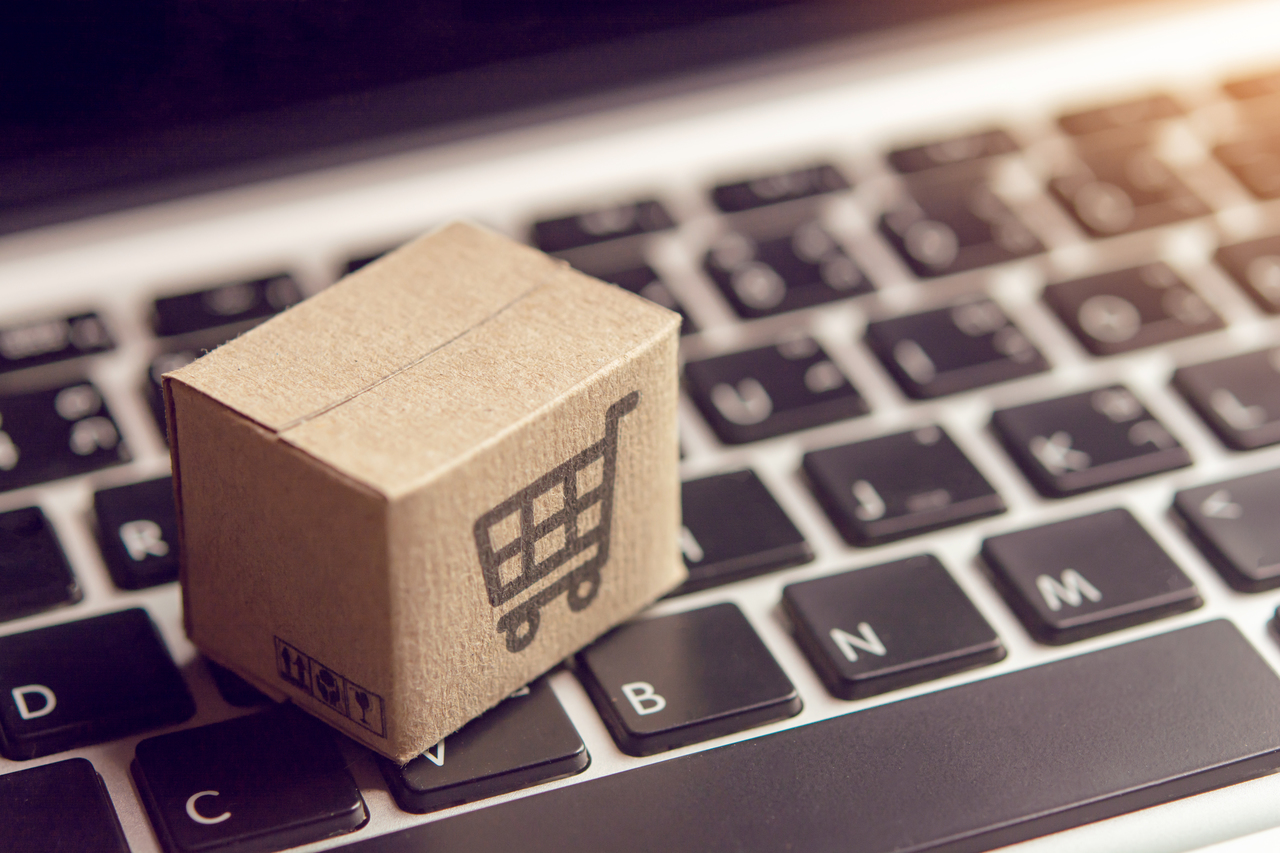 Box for online shopping