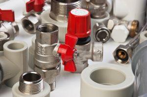 Plastic pipe parts