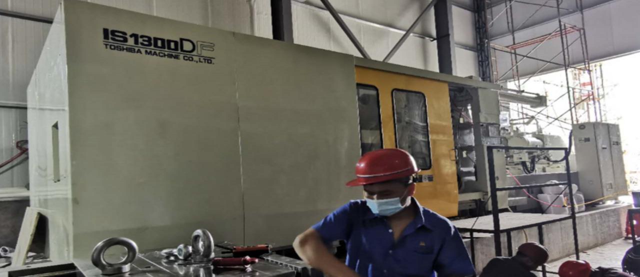 CLF 1300 TONS MACHINE –